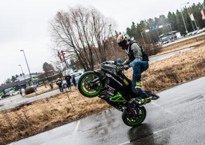 Stunt-show / Krossin Kevättuuletus 2017