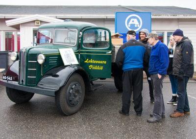 Museoauto Austin / Krossin Kevättuuletus 2017